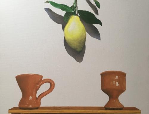 Limon con ceramica.
